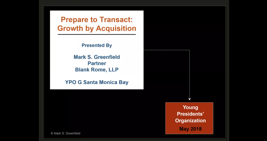 GCC: Prepare to Transact: Growth by Acquisition